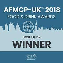 SugaVida Website AFMCP UK 2018 Award Image