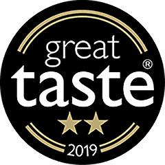 SugaVida Website Great Taste Award Image 2019 2 Star