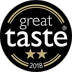 SugaVida Website Great Taste Award Image 2018 2 Star