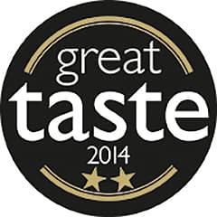 SugaVida Website Great Taste Award Image 2014 2 Star