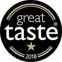 SugaVida Website Great Taste Award Image 2018 1 Star